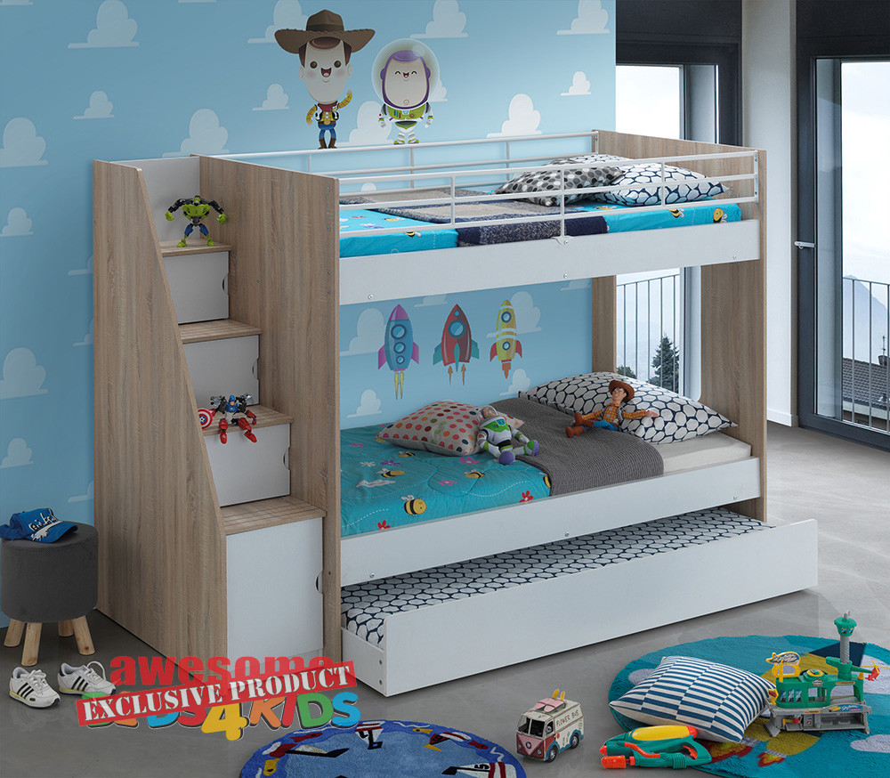 Calypso Single Bunk Bed Is Exclusive To Awesome Beds 4 Kids. The Calypso Is  The