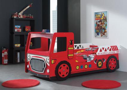 modern fire engine car bed fire engine car bed car beds fire rh beds4kids com au  fire truck bedding for toddler bed