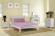 Panama Bed Frame features straight lines and a low foot board. This model is very popular for all ages of boys and girls. Available in Low Gloss White. Available in All Sizes.