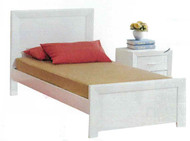 Ibis Bed Frame made from hardwood offers great value! White Only