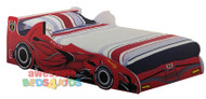 F1 Racer Car Bed Red