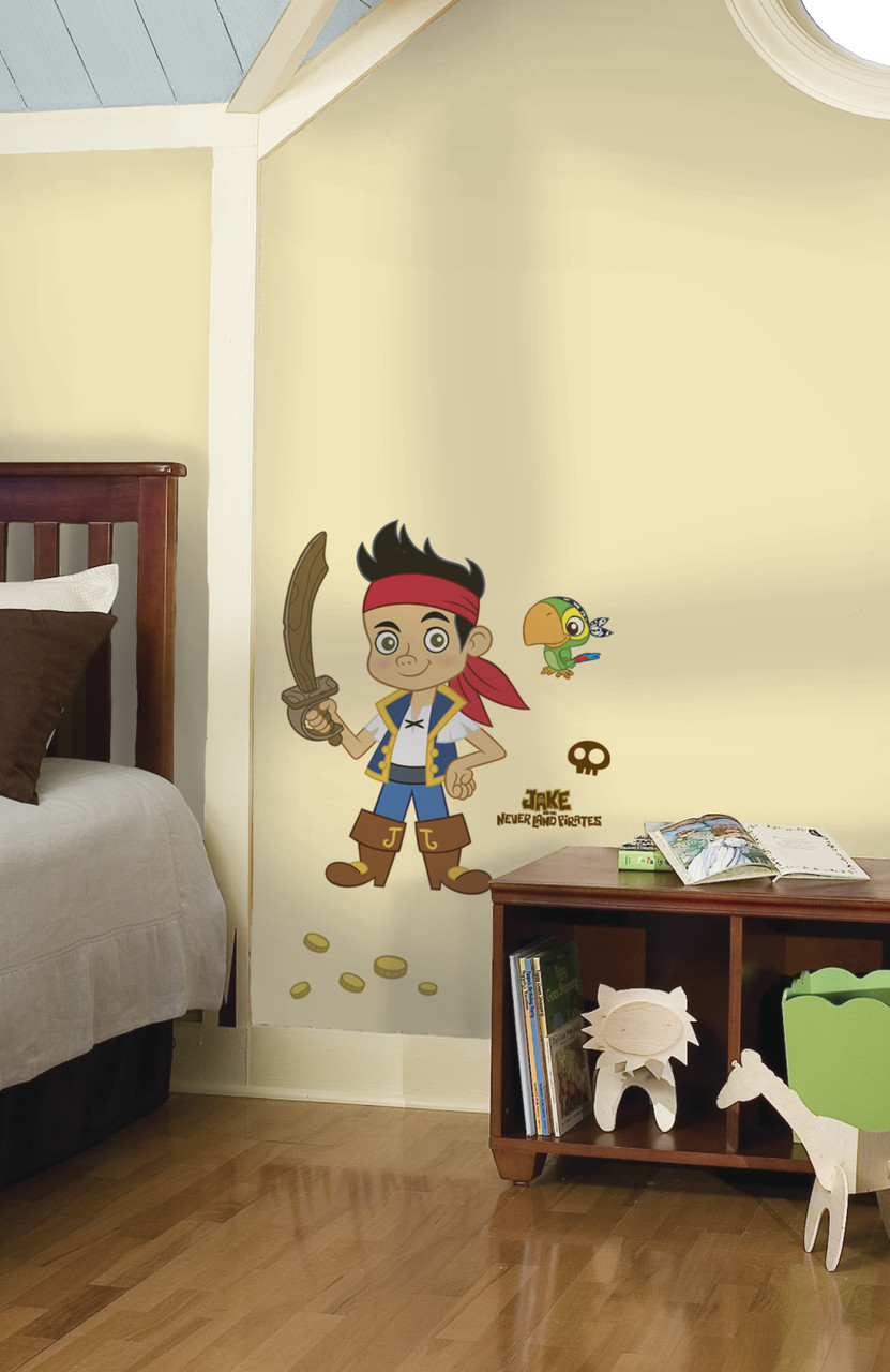 Jake and the Never Land Pirates Giant Wall Decal | Boys Wall Decals ...