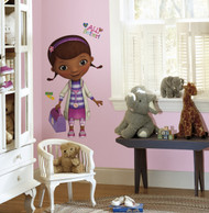 The Doc is in! This giant Doc McStuffins wall sticker will delight children who are all about fixing toys and staying healthy.