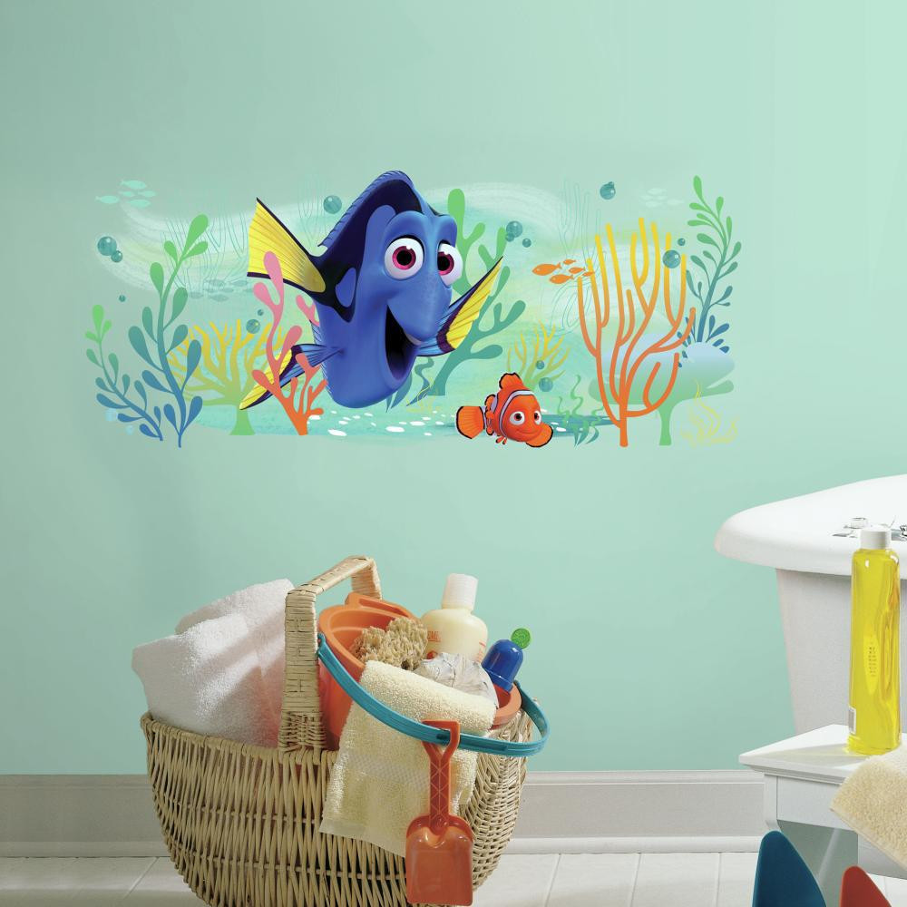Celebrate true friendship in our Disney Pixar Finding Dory and Nemo Giant Wall Graphic.