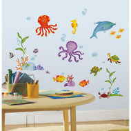 Go on an adventure with your new undersea friends!