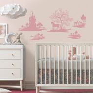 Experience a world of enchantment with DwellStudio Fable Giant Wall Decals.