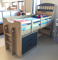 Tugun Single Bunk Bed FLOOR STOCK HELENSVALE