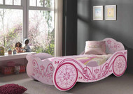 Havana Pink Princess Car Bed will have your little girl drifting to lovely dreams each night. The perfect first bed.