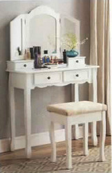 Diamond Dressing Table & Stool
