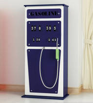 Original Petrol Pump Cabinet  Blue