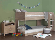 Cloverdale Low Bunk Bed is a great option for space saving with younger kids