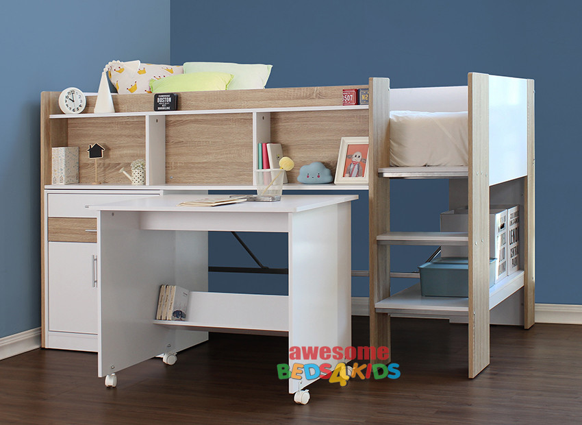 The Regent Midi Sleeper is a great space saver solution for all kids bedrooms and is great value for money.