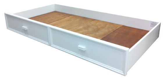 The Burleigh Trundle/Storage Drawer for Bunks is the perfect solution for kids sleepovers, spare bed for guests or to simply store kids toys or blankets.