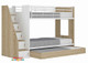 Astor Single Bunk Bed is the perfect all in one space saving solution for your kids room.