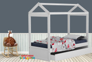 1. Fairview House Bed with Single Trundle