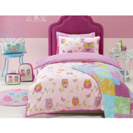 Owl Song Double Quilt Cover