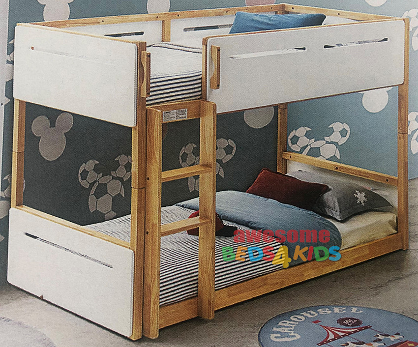 Kelso Bunk Bed Natural Timber Low Bunk Bed Single Bunk Bed Awesome Beds 4 Kids