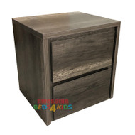 Hamilton Two Drawer Bedside Table