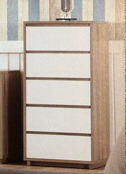 Marcoola Slim 5 Drawer Tallboy