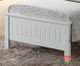 Detailed head and footboards
