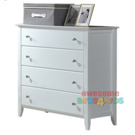 Highate 4 Drawer Tallboy