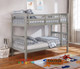 Brighton Single Bunk Bed is great value! Federation style open head and foot boards which creates a feeling of space.