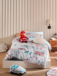 Call In The Sirens Quilt Cover Set Hiccups For Kids