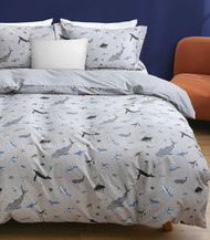 Ocean Single Quilt Cover 100% Cotton - Odyssey
