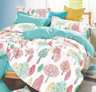 Tulli Single Quilt Cover 100% Cotton - Odyssey