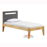 Cooper Bed Frame Charcoal - Single or King Single