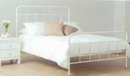 Vintage bed frame is a classic inspired design, which is perfect for the little princess. Great Value! White or Teal only. Single, Double or Queen sizes