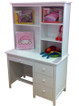 Kado desk and hutch matches all of our low gloss white beds and furniture. The desk is a perfect size for all bedrooms big and small. Hutch offers a great storage solution.