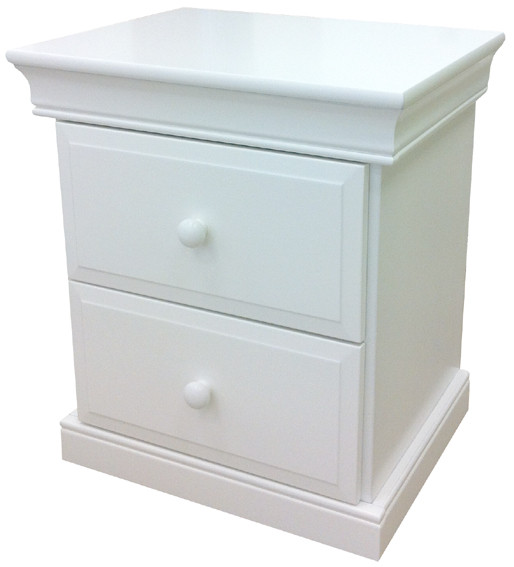 Marseille Bedside matches all of our low gloss beds and furniture. The premium bedside table features two drawers on full extendable premium metal runners. Awesome Quality.