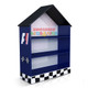 F1 Bookcase completes your child's bedroom racing car theme. Great storage and great value for money. Available in Red or Blue. Co-ordinates with most of the novelty beds.
