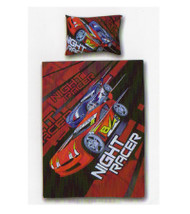Night Racer Single 100% Cotton Quilt Cover