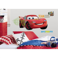 Cars 2 Lightning McQueen Giant Wall Decal