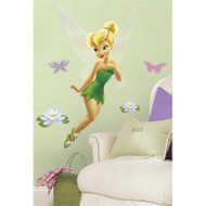 Tinker Bell Giant Wall Decal with Glitter