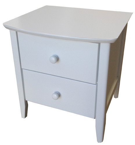 Revenna two drawer bedside matches all of our low gloss beds and Furniture