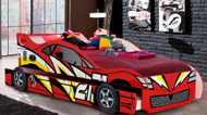 No21 Lightning Car Bed with Trundle