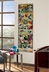 Marvel Spiderman Classic Giant Wall Panel