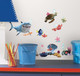 Bring home the magic of Disney-Pixar's Finding Nemo with these fun and colourful wall decals.