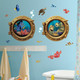 Bring the magic of Disney-Pixar's Finding Nemo into any child's room with these creative wall decals.