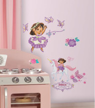 Dora's Enchanted Forest Wall Stickers