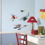 Add Dusty and the gang to your walls with Planes Fire and Rescue wall decals from RoomMates.