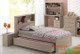 Broadbeach 5 Piece Bedroom Suite with Trundle Bed is a very modern and practical bedroom solution for boys or girls.