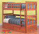 The Fort Bunk Bed features an open slated head and foot board to give a sense of space. The bunk is easy to assemble and can be set up as two single beds if needed. Trundle Optional Extra.