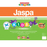 My Jaspa Family Care Pillow has been developed specifically for kids. Filled with premium treated polyester helping to protect against bacteria, mould, mildew & dust mites for protection against asthma and allergies for small children.