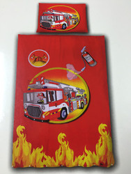 Fire Engine 100% Cotton by Kids House Factory