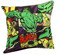 Retro Hulk Cushion Cover