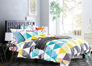 Double Retreat 100% Cotton Quilt by Odyssey